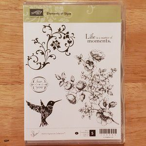 Stampin' Up! - Elements of Style Stamp Set
